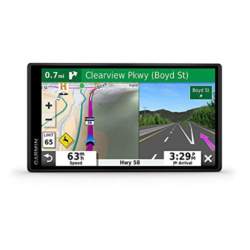 Garmin DriveSmart 55 & Traffic: GPS Navigator with a 5.5 Display, Hands-Free Calling, Included Traffic alerts and Information to enrich Road Trips