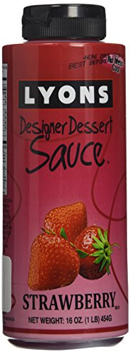 Lyons Designer Dessert Sauce, Strawberry, 16 Ounce ()