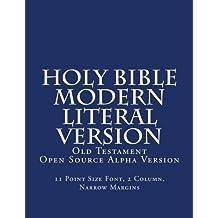 Modern Literal Version Old                       Testament