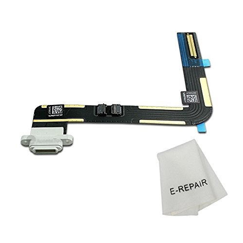 Charging Port Connector Dock Flex Cable Replacment for Ipad Air (White) (Best Ipad Air Dock)