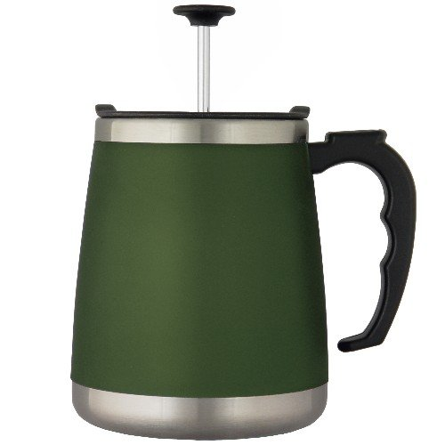 UPC 029441022211, Liquid Solution Sage Chugg French Press Coffee Mug 16 Ounces