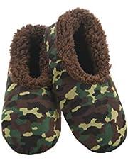 Slumbies! Camo Mens Slippers - Soft Slippers for Men - Indoor House Slippers for Men - Comfortable Mens House Slippers