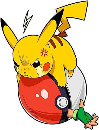 Revenge !! Parodie Pok/émon Okiwoki Casquette Enfant Noire Pok/émon parodique Sasha et Pikachu