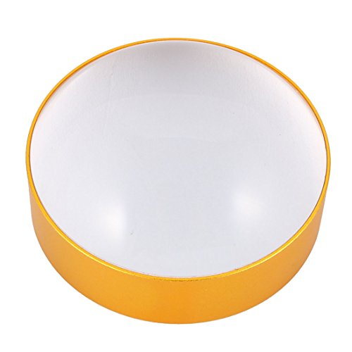 uxcell Magnifier 5X Illuminated Magnifier Round Shape Magnifying Glass Eye Glass Lens (182 Eyeglasses)