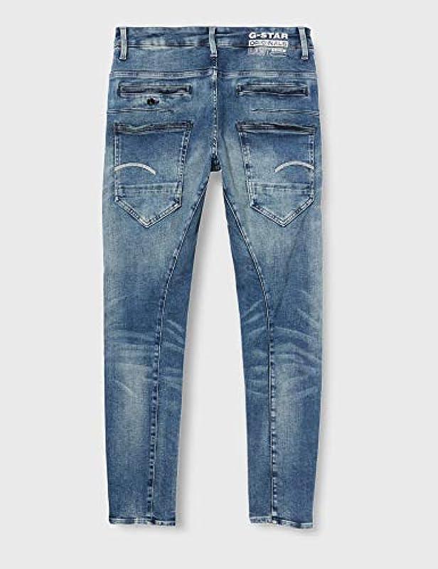 G-STAR RAW Męskie D-Staq N 3D Slim Jeans: Odzież