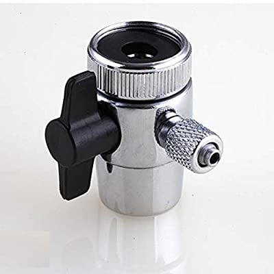 Diverter Valve For Counter Top Water Filters Faucet Adapter 1/4 Inch
