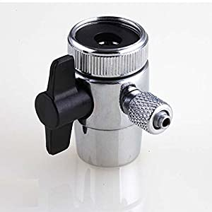 Diverter Valve For Counter Top Water Filters Faucet Adapter 1/4 ...