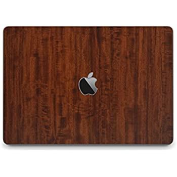 Amazon.com: iCarbons Dark Wood Grain Vinyl Skin for MacBook ...