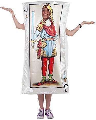 DISBACANAL Disfraz de Carta Sota de Espadas - -, XL: Amazon.es ...