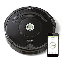 iRobot Roomba 671 Robot Aspirador, Programable desde la app, WiFi, Alto Rendimiento, Sensores Dirt Detect, Todo Tipo de Suelos, Atrapa El Pelo de Mascotas