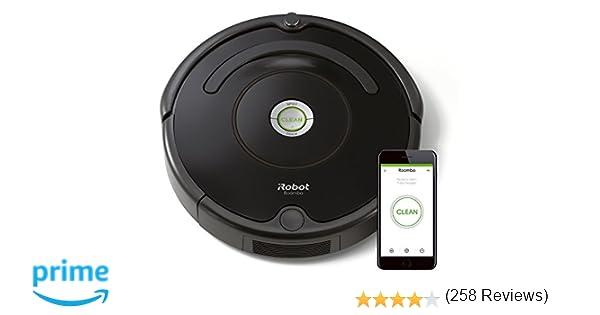 iRobot Roomba 671 - Robot aspirador suelos duros y alfombras, tecnología Dirt Detect, limpieza en 3 fases, wifi, programable por app, compatible con ...
