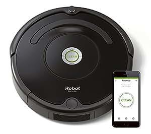 iRobot Roomba 671 - Robot aspirador para suelos duros y alfombras, con tecnología Dirt Detect, sistema de limpieza en 3 fases, con conexión wifi y programable por app