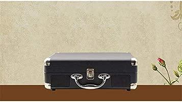 Tocadiscos Retro Radio Vintage Giradiscos portátil Bluetooth ...