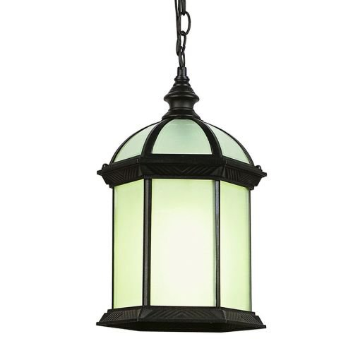 Black Globe Pendant Light in US - 8