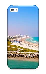 Flexible Tpu Back Case Cover For Iphone 5c - South Beach