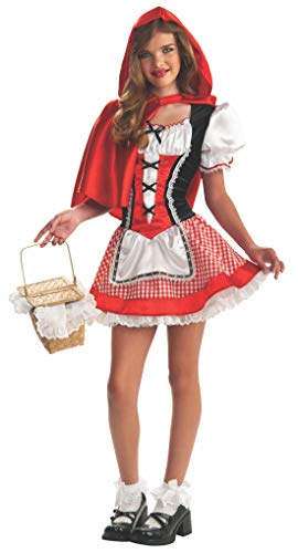 Tween Little Red Riding Hood Halloween Costume (Rubie's Drama Queens Tween Red Riding Hood Costume - Tween Small)