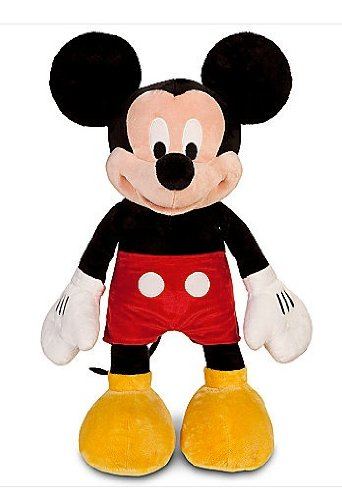 Nip Disney Mickey Mouse (Disney Mickey Mouse Plush Toy,Red Shorts,Yellow Shoes,Large 25