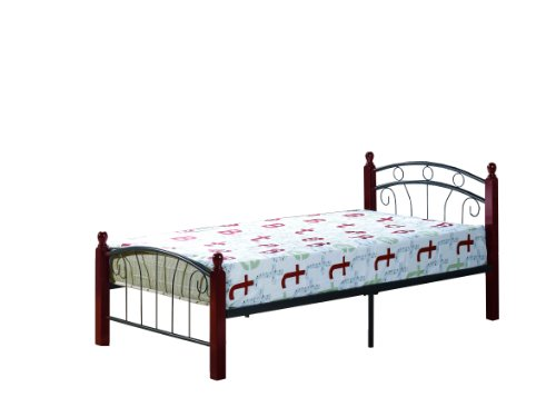 William's Home Furnishing Bed with Headboard/Footboard/Rails, Twin
