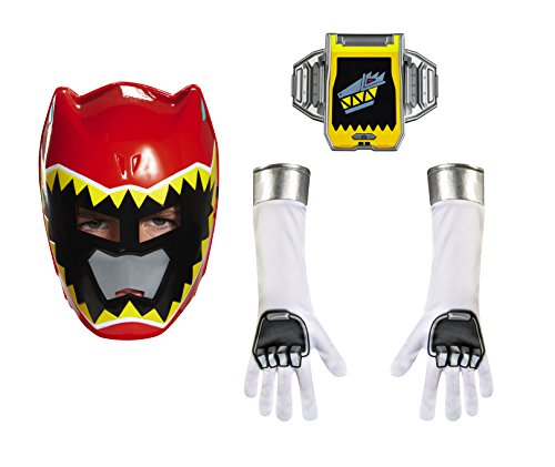 [Disguise Red Ranger Dino Charge Child Accessory Kit Costume] (Power Rangers Masks)