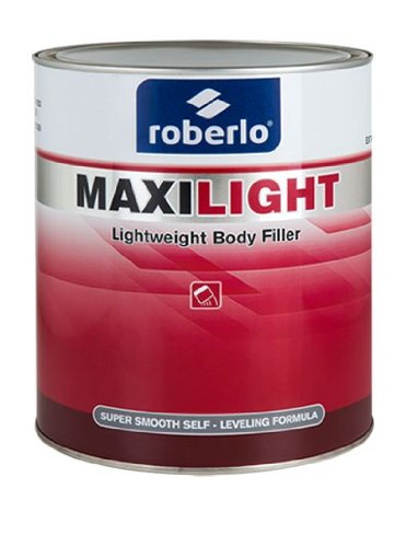 Roberlo Maxilight Lightweight Body Filler (Putty) restoration auto car paint