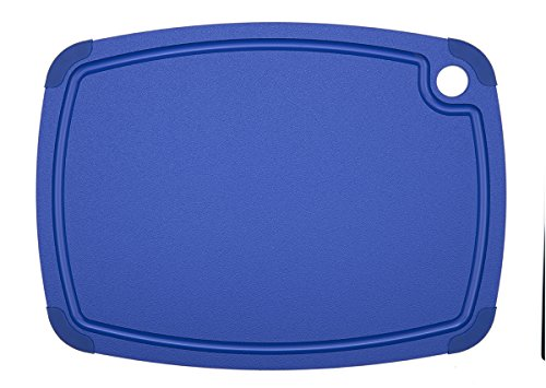 Epicurean Recycled Poly Cutting Board, 17.5-Inch by 13-Inch, Blue