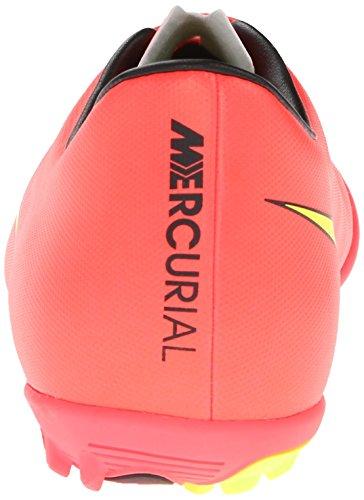 Nike Mænds Mercurial Victory V Græstørv Fodbold Klampen Hyper Slag / Sort / Volt / Metallisk Guldmønt YD22lN7Px