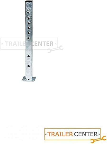 AL-KO St/ützfu/ß starr mit Aussenrohr 50mm vierkant bis 400kg
