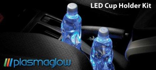 Plasmaglow 11064 Purple LED Cup Holder Kit