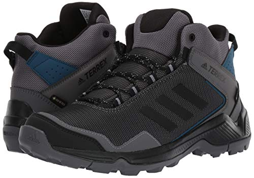 adidas Outdoor Men's Terrex EASTRAIL MID GTX Hiking Boot, Four/Black/Grey Three, 6 D US 7