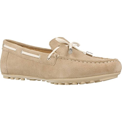 Geox Ladies D Leelyan Un Mocassino Marrone