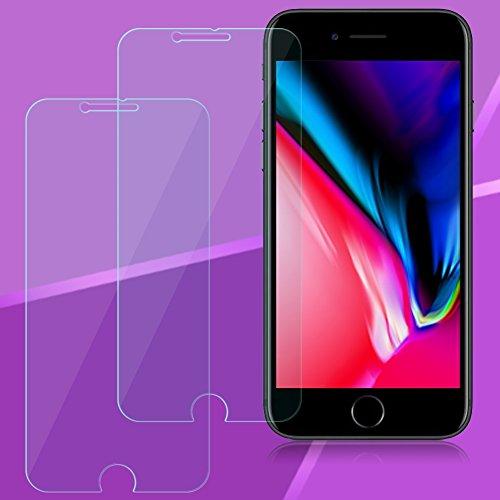 2X APPLE IPHONE 8Plus Vetro Temperato Vetro Schermo Pellicola Vetro Temperato Vetro di Protezione