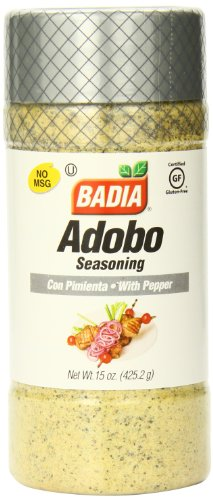 (Badia Adobo with Pepper, 15 Ounce (Pack of 12))