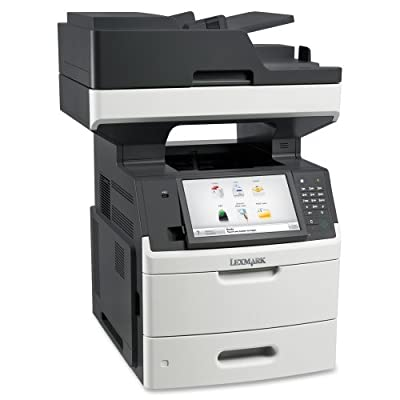 Lexmark MX711DHE - B/W Multifunction FAX Copier Scanner Printer (Certified Refurbished)