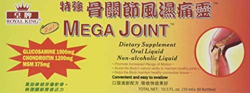 3 Boxes Mega Joint Dietary Supplement Liquid Glucosamine and Chondroitin