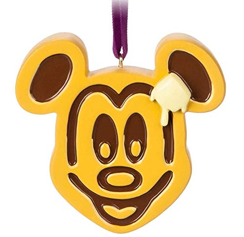 Parks Disney Mickey Mouse Waffle Ornament (Mouse Ornaments)