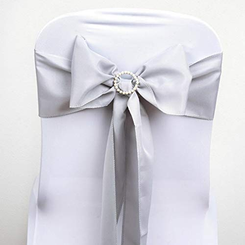 - Mikash Polyester Chair Sashes Bows Ties Wedding Reception Decorations Wholesale | Model WDDNGDCRTN - 4920 | 10 pcs