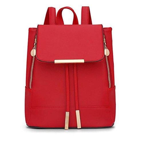 mode multifonctionnel des Sac à à 16 PU dos de sac 24 la femmes 29cm souple 5 cuir sac en décontracté main PtPEq