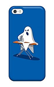 High Quality MaryannVillanueva Funny Ghost Skin Case Cover Specially Designed For Iphone - 5/5s