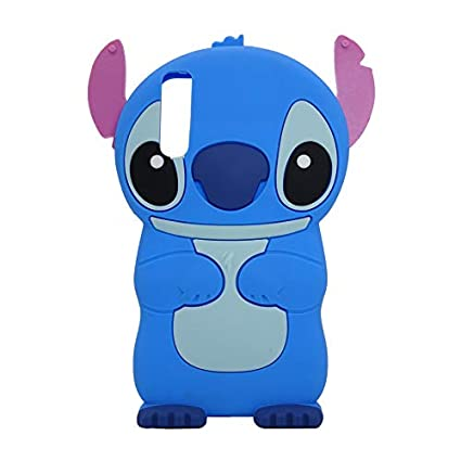 Galaxy A50 Case Soft Silicone Cute Cartoon Lovely Fashion Cover for Samsung Galaxy A50 Cool Cases for Kids Boys Girls (Stitch)