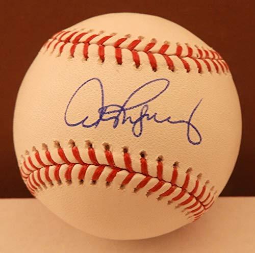 Alex Rodriguez Autographed Signed Memorabilia Official MLB Baseball Yankees Beckett Bas Auto E67371