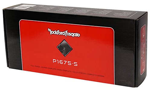 2-Pairs Rockford Fosgate P1675-S Punch 6.75'' 240w Car Audio Component Speakers by Rockford Fosgate (Image #8)