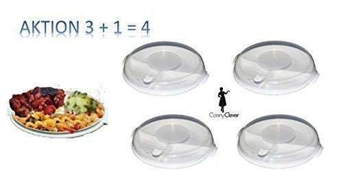 3 Piezas GASTRO Plato de microondas Set Utensilios de cocina ...