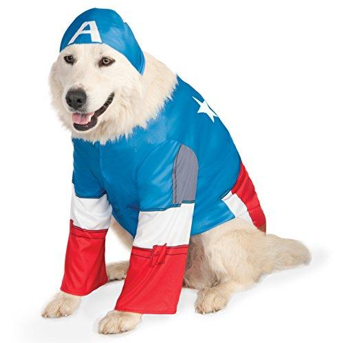Marvel Universe Captain America Big Dog Boutique Costume, XXX-Large ()