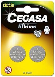 CEGASA CR2430 - Pack 2 Pilas botón Litio, Color Verde: Amazon.es ...
