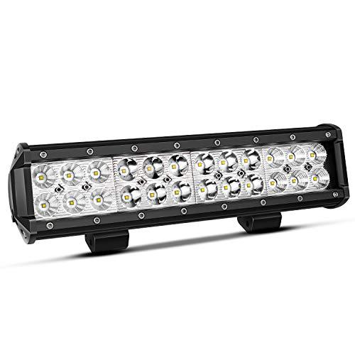 Custom A4 Adult Cooling - TURBOSII 12 Inch Led Light Bar 72W Light Bar Led Light 12V LED Work Light Spot Flood Combo Beam Driving Lights Fog Lights For ATV UTV Truck Boat Jeep Cars ,1PCS