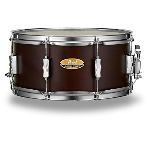pearl-limited-edition-maple-snare-drum-65x14-satin-brown-lacquer