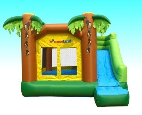 Jungle Inflatable Bounce House W/slide B - Jungle Slides Shopping Results