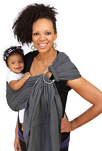 Maya Wrap ComfortFit Ring Sling - Graphite - Medium