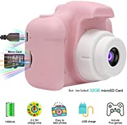 GOTCHICON Children Mini Digital Camera 2 Inch Screen Video Recorder Educational Toys