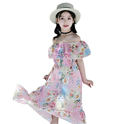 (Baby Girl Chiffon Dresses Sleeveless Drape Dress+Brooch Big Skirt Vest Plus Corsage Princess Dress Beige)